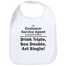 Customer Service Agent Bib