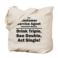 Customer Service Agent Tote Bag