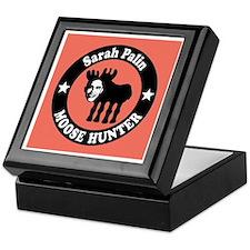Sarah Palin Moose Hunter Keepsake Box