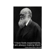 Charles Darwin Quotes Rectangle Magnet (10 pack)