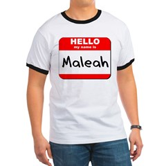 Hello my name is Maleah T