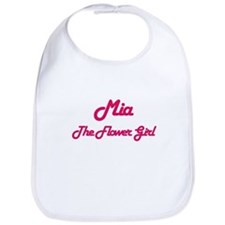 Mia - The Flower Girl Bib