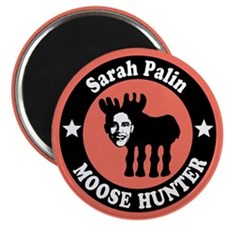 Sarah Palin Moose Hunter Magnet