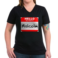 Hello my name is Malcolm Shirt