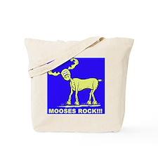 Blue MOOSES ROCK Tote Bag