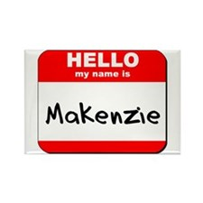 Hello my name is Makenzie Rectangle Magnet