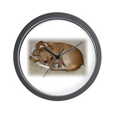 Unique Rescued dog Wall Clock