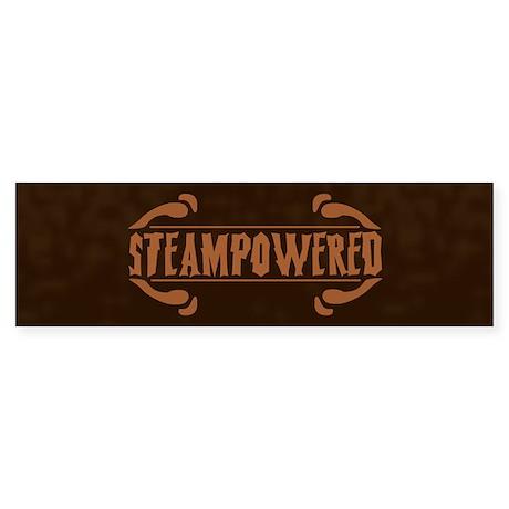 Steampowered Bumper Sticker