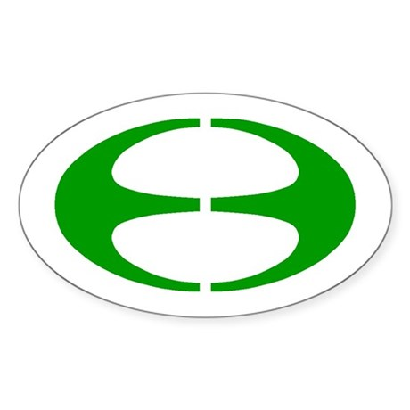 Ovala Glumarko/Oval Sticker