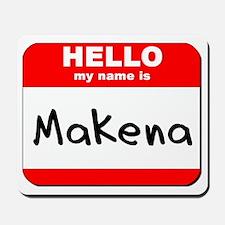 Hello my name is Makena Mousepad