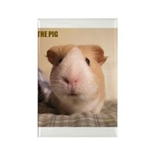 THE Pig! Rectangle Magnet