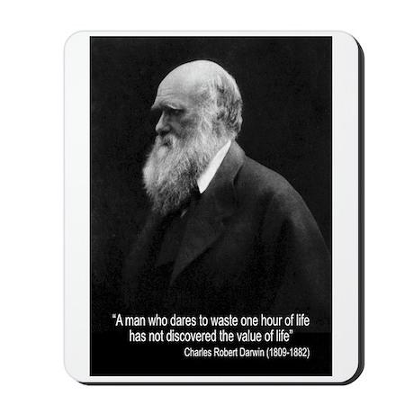 Charles Darwin Quotes Mousepad