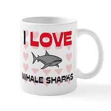 I Love Whale Sharks Mug