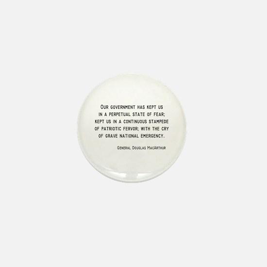 MacArthur Mini Button