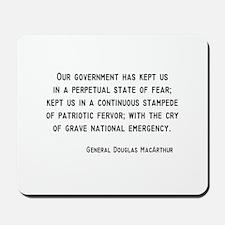 MacArthur Mousepad