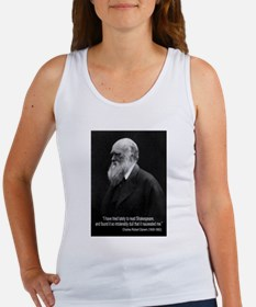 Charles Darwin Quotes Women's Tank Top