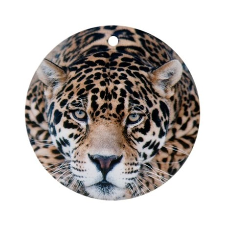 Jaguar Ornament (Round)