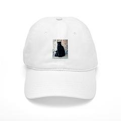 Black Leopard Baseball Cap