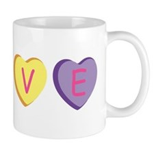 Unique Conversation heart Mug