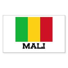 Mali Flag Rectangle Decal