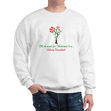Christmas Wish Kidney Sweatshirt