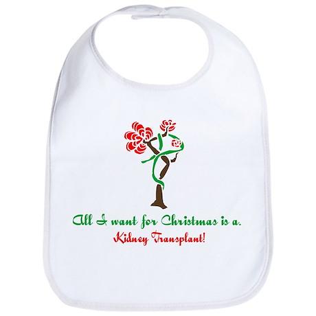 Christmas Wish Kidney Bib
