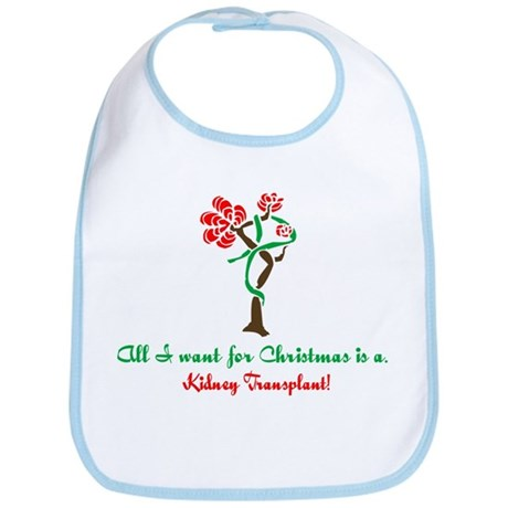 Christmas Wish Kidney Bib