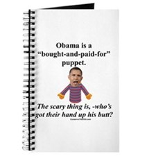 """""""Obama the Puppet"""" Journal"""