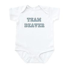 Team Beaver Infant Bodysuit