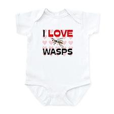 I Love Wasps Infant Bodysuit