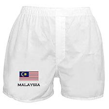 Malaysia Flag Boxer Shorts