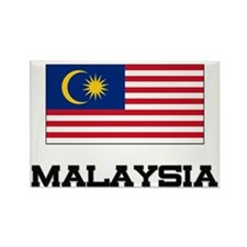 Malaysia Flag Rectangle Magnet