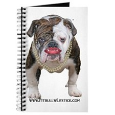 Palin Pit Bull with Lipstick Journal