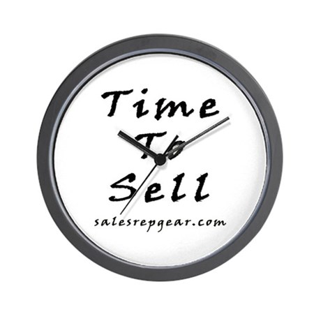 Sales Wall Clock - Time To Sell