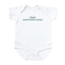 Team California Quail Infant Bodysuit