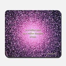 """A Million Stars"" Mouse Pad Mousepad"