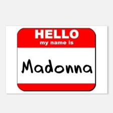 Hello my name is Madonna Postcards (Package of 8)
