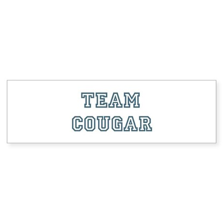 Team Cougar Bumper Sticker