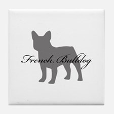French Bulldog Tile Coaster