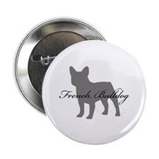 "French Bulldog 2.25"" Button"