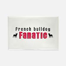 French Bulldog Fanatic Rectangle Magnet