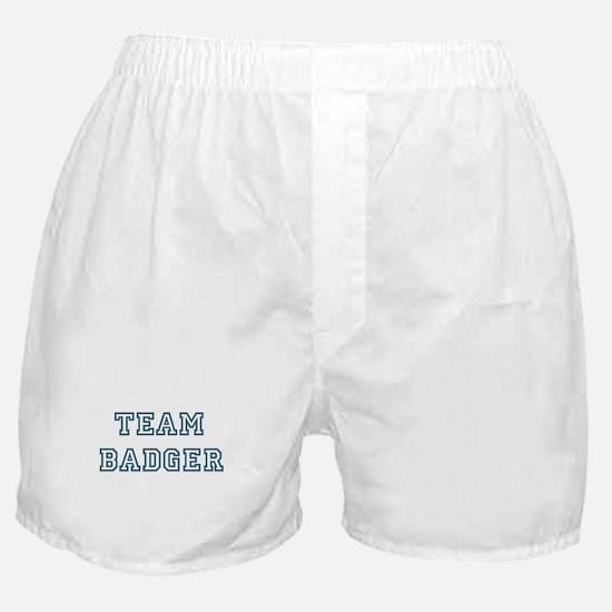 Team Badger Boxer Shorts
