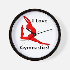 Gymnastics Clock - Love