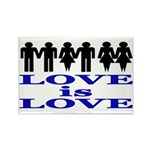 Love is Love Rectangle Magnet
