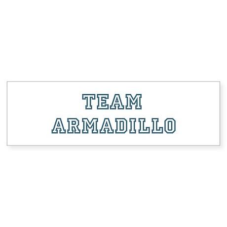 Team Armadillo Bumper Sticker (50 pk)
