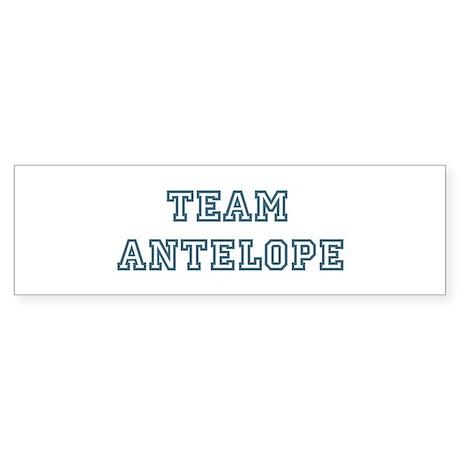Team Antelope Bumper Sticker