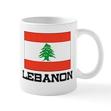 Lebanon Flag Small Mug