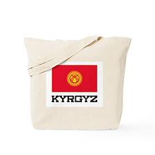 Kyrgyz Flag Tote Bag