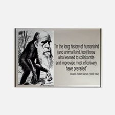Charles Darwin Quotes Rectangle Magnet