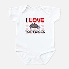 I Love Tortoises Onesie